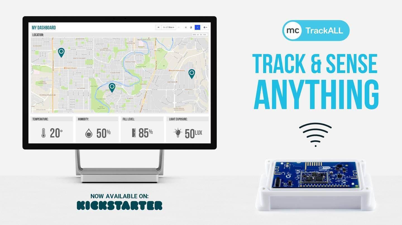 バッテリー駆動でなんでもこなす多機能センサー「TrackALL」