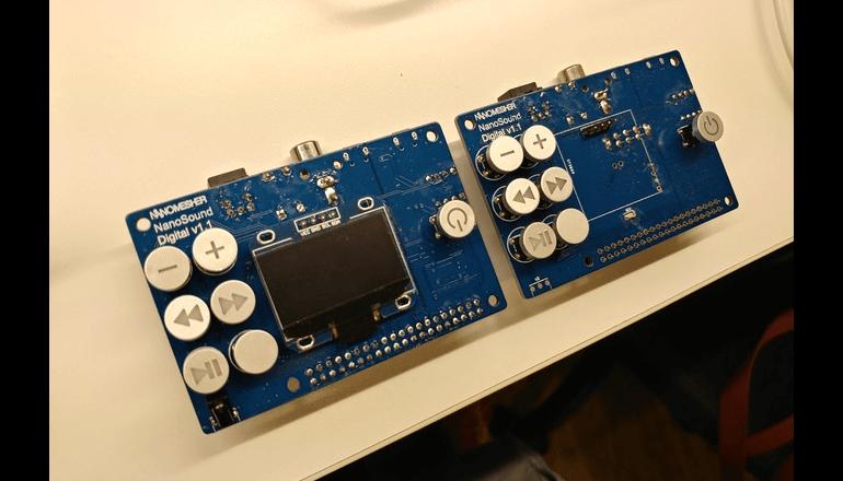 Raspberry Pi を活用したオーディオガジェットプロジェクト「Nano Sound」