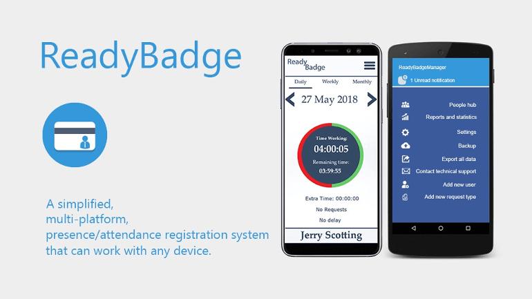 タイムカードや人員整理はこれ一つでマネジメントしてしまおう「ReadyBadge」
