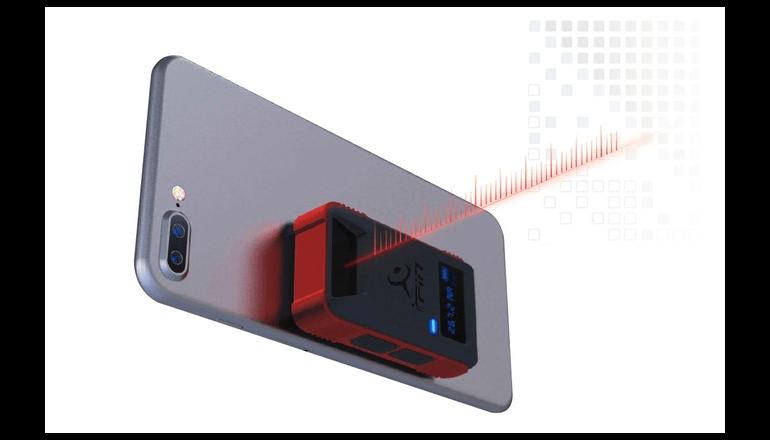 世界初のスマホ対応レーザー測定器「iPin Pro」