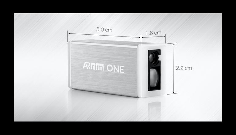 世界初のAR採用型スマートフォンメジャー「Arrim ONE」