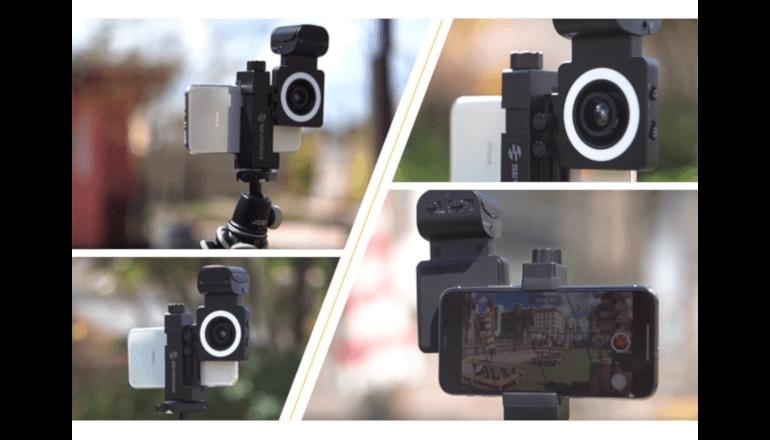 スマートフォン向け高性能撮影キット「Smartcine」