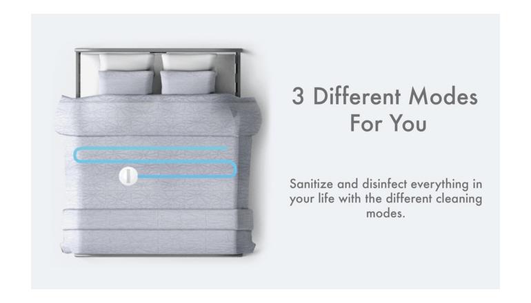 旅先や出張先のベッドも清潔に「CleanseBot」
