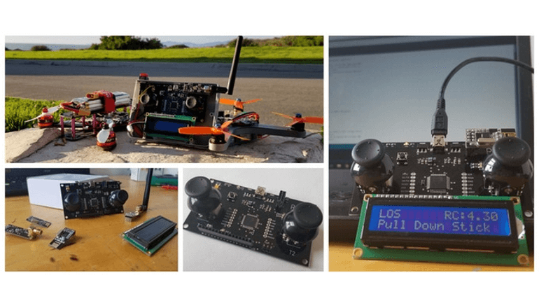 Arduino対応のワイヤレスコントローラー「The Pilot Remote Controller」