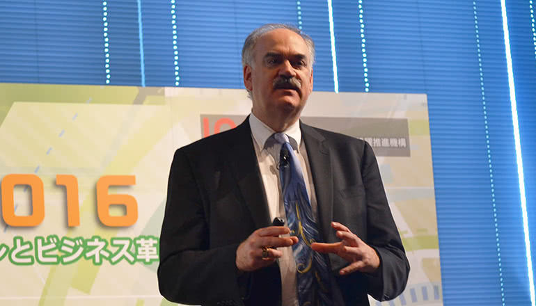 特別講演「IICの役割と国際協力・連携の重要性」 IoTイニシアティブ2016「IoT・AI・ビックデータがもたらす破壊的イノベーションとビジネス革新」特別講演