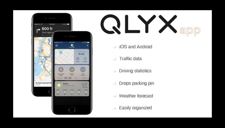 スマートな携帯ホルダー「QLYX」