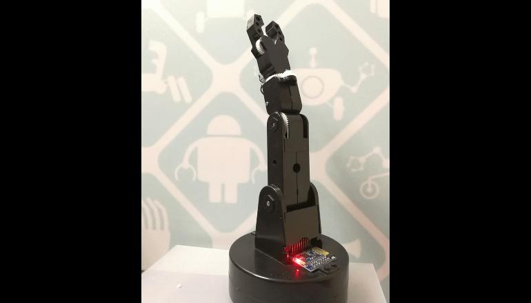 世界で最も小型のDIYロボットアームが登場。「Smart Club Mini-arm」