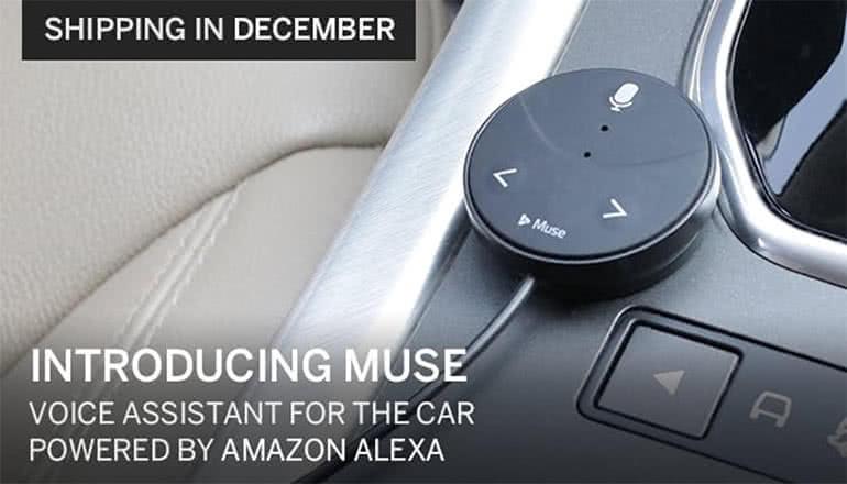 Amazon Alexaを車の中まで持ち込もう。「Muse」