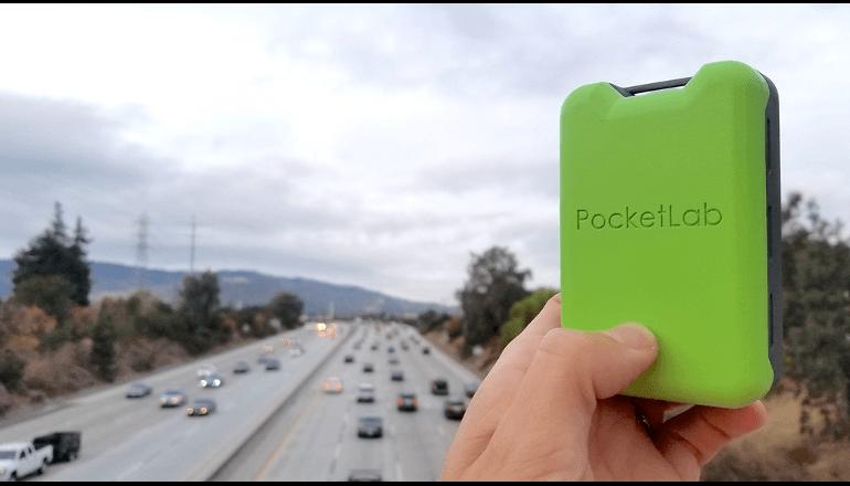 空気汚染や公害から身を守るための新たなアイテム。「PocketLab AIr 」