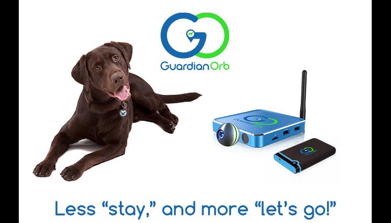 三種類の位置情報特定機能でペットの確実なトラッキングを。「Guardian Orb」