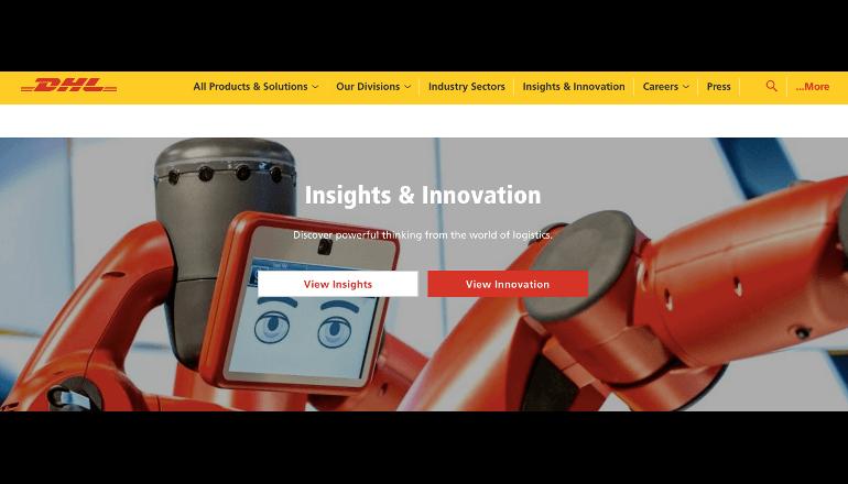 DHLのロボティクスとIoTを活用した業務効率改善のための取り組みとは?