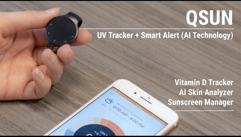 これからは紫外線もスマートデバイスで対策する時代に「QSun」