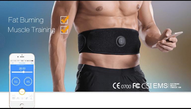筋肉を刺激してお手軽に理想的な体型を手にいれよう「CharmBelt」