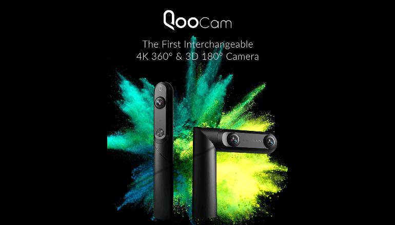 プロアマ問わず使えるコンパクトな高性能3Dカメラ「QooCam」