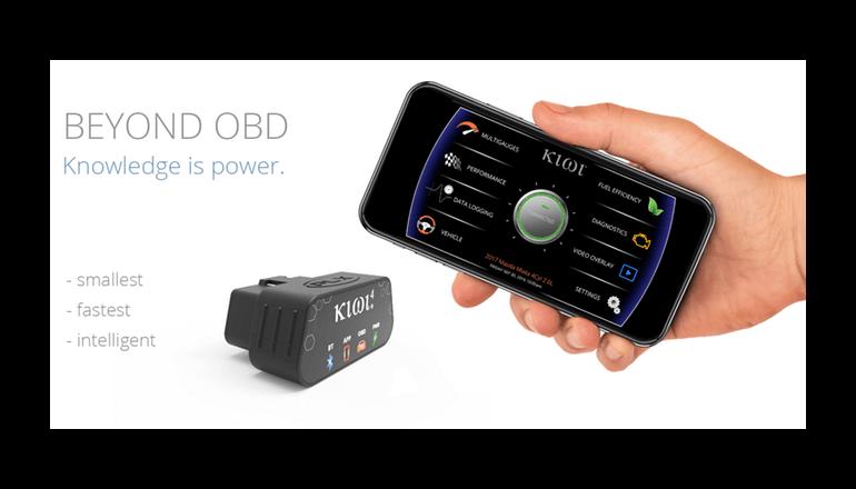 自動車の自己診断機能を更に向上させてくれる外付けデバイス「Kiwi4」