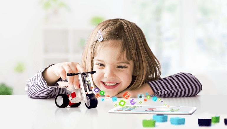 ブロック遊びで子供にもわかりやすいプログラミング教育を「Tinkamo」