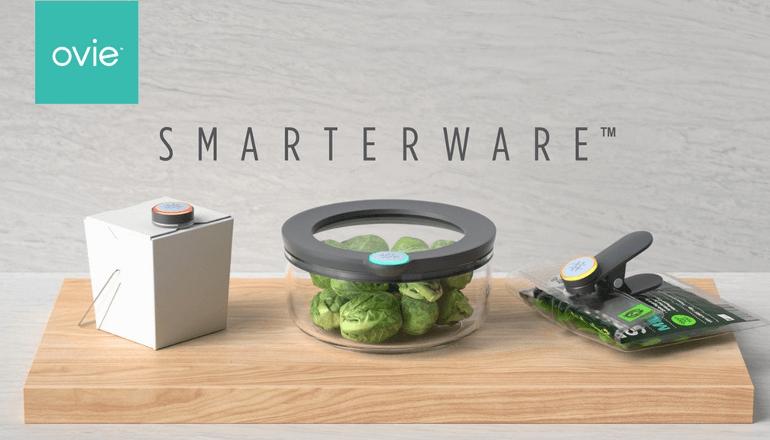 冷蔵庫にある食べ物をスマートに管理「Ovie Smarterware」