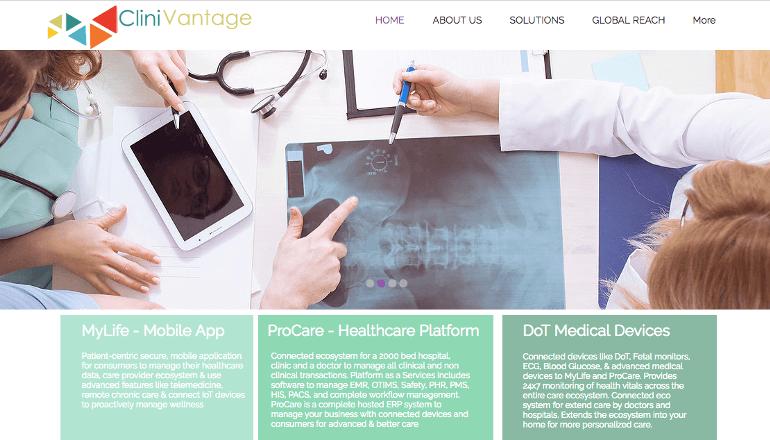 遠隔地でも患者とつながることができるClinivantageのIoTヘルスケアデバイス