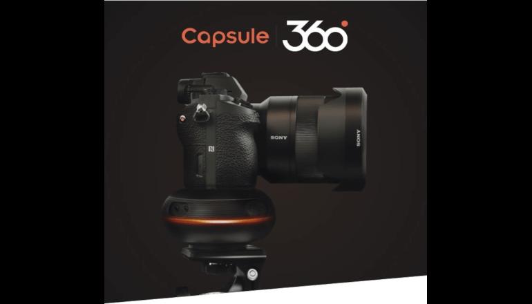 自在なモーションコントロールで撮影の可能性を広げる「Capsule360」