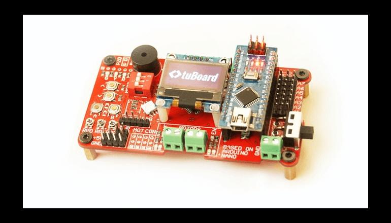 人間の脳のようなスマートさを実現した開発ボード「tuBoard」