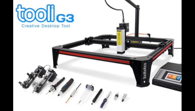 多目的使用が可能なコンピュータ制御の出力機「TooliG3」