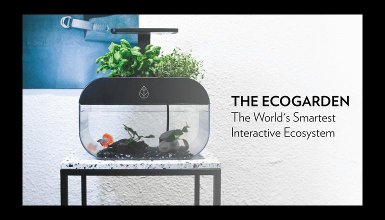 世界で最もスマートでインタラクティブなガーデニングキット「EcoGarden」