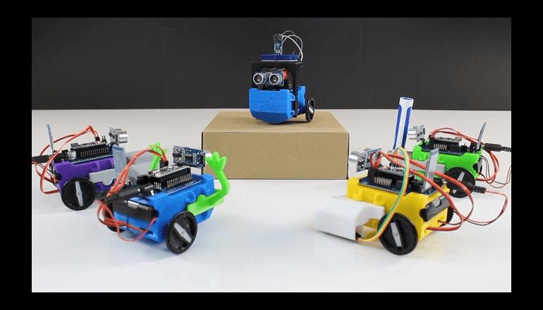 STEM教育に最適な初心者向けロボットキット「LittleBot Budget」