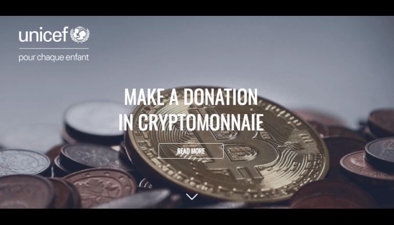 ユニセフ・フランスが暗号通貨による寄付受付を発表、変化する寄付のかたち