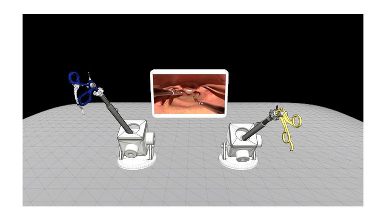 安価な外科手術シミュレーションで高い練度を目指そう「Lapstick」