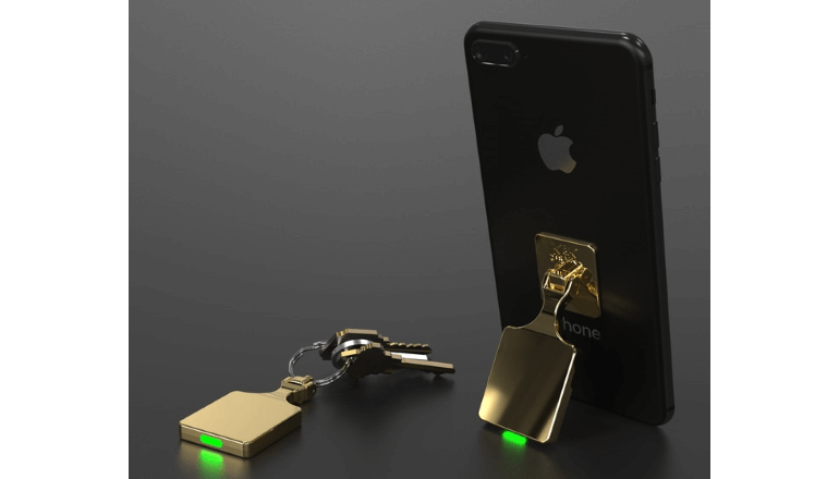 もう鍵もiPhoneもなくす心配なし。「KickTrack」