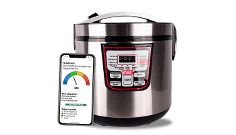 体の燃焼作用を促し、ダイエットの手伝いをしてくれる調理器「Méthode 7SLIMCOOK」