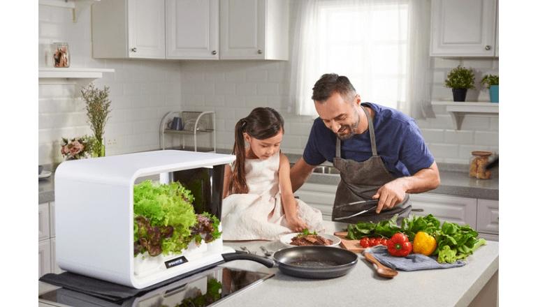 室内でも安心・安全な家庭菜園を楽しめるIoTキット「aspara」