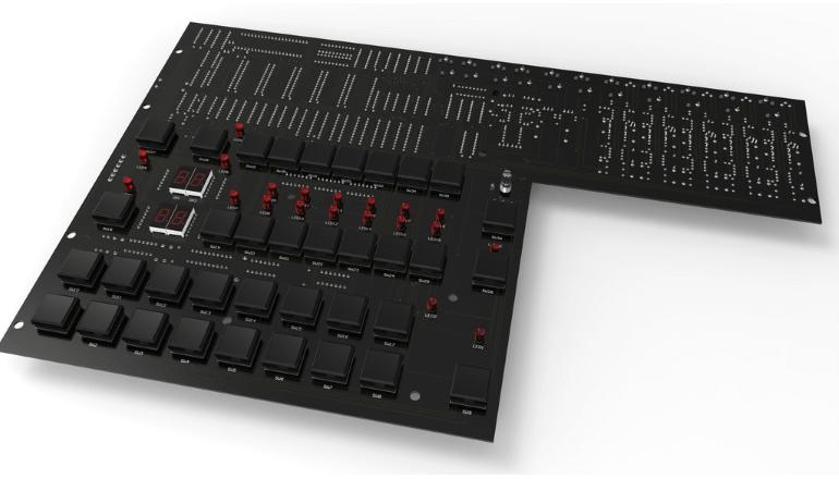 LM-2の取り換え可能パーツとなるドラムアセンブリ「LinnDrum PCB's & Assemblies」