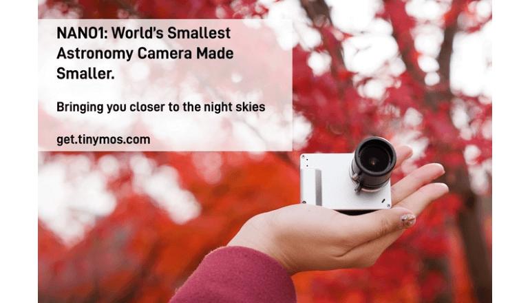 世界最小サイズの天体観測カメラ「NANO1」