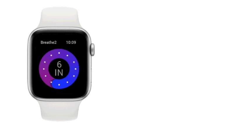 Apple Watchに無料のヘルスケア機能を搭載しよう「Breathe2」