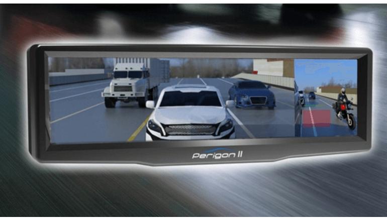 デジタルミラーでより安全なドライブを「Perigon II」