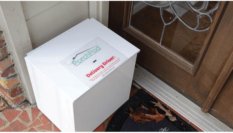 個人向けのスマートな宅配ロッカー「The Porch Pod」