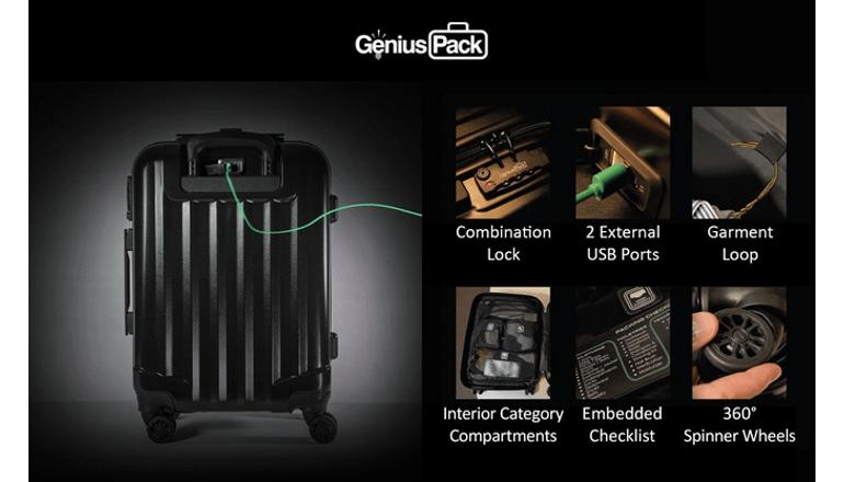 旅行や出張はこれ一台で完璧「Genius Pack Supercharged」