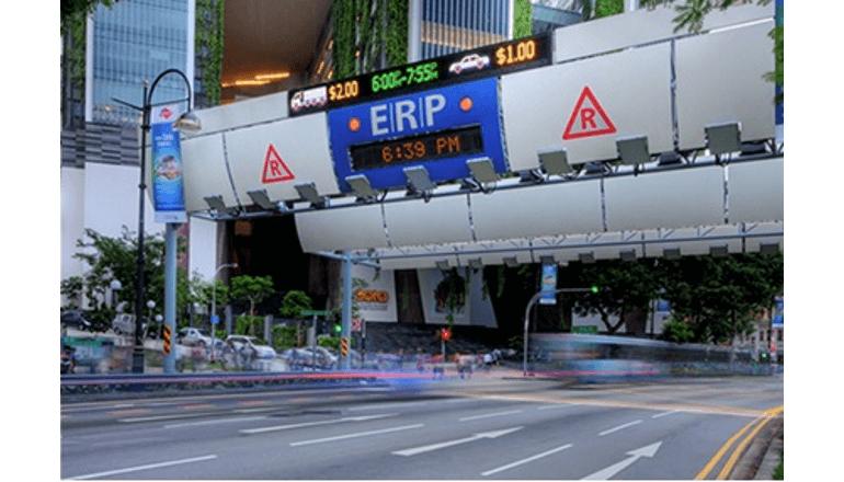 都市部の交通渋滞を緩和するシンガポールのERPシステムとは?