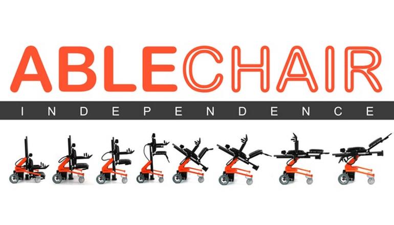 次世代の多目的電動車イス「AbleChair」