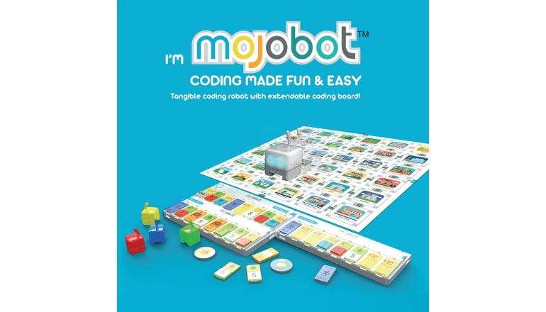 コーディングが直接反映されるロボットボードゲーム「Mojobot」