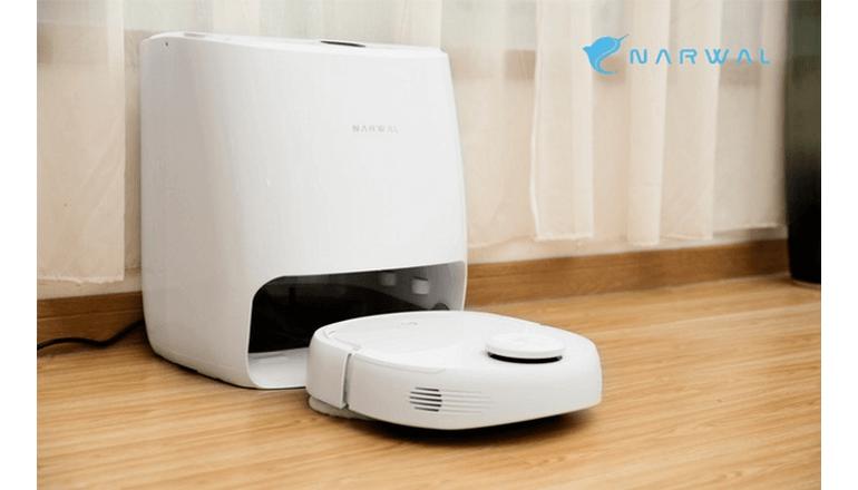 スマートマッピング機能つき掃除ロボット「Narwal」