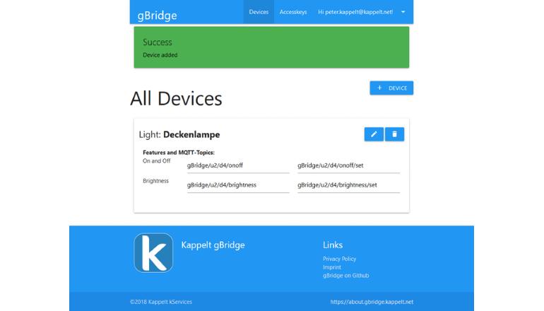 ボイスコントロールでなんでも自在に操作可能「gBridge.io」