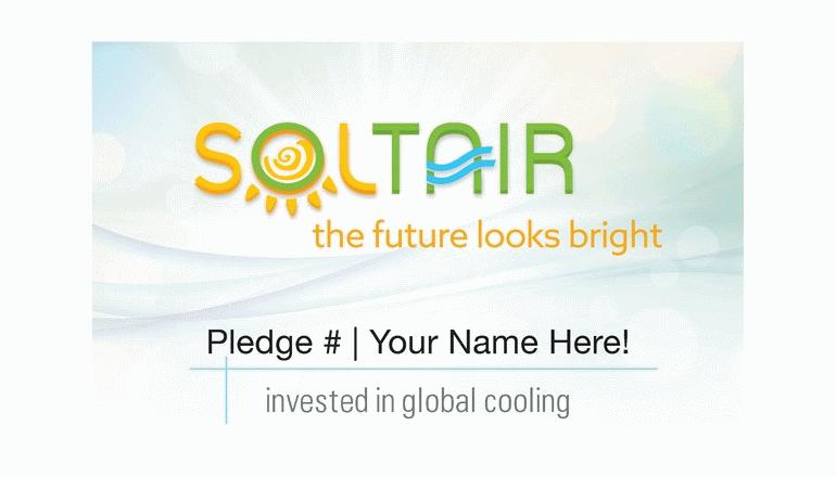 エアコンのあり方を再定義。太陽光でタービンが動く「SOLTAIR」