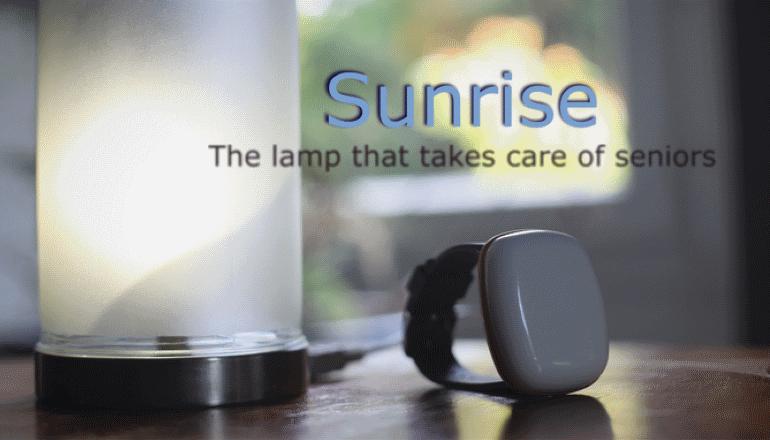 身近なお年寄りに何かあっても安心「Sunrise」