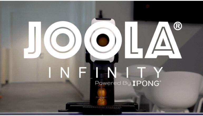 これで卓球もお手軽に練習可能に「JOOLA Infinity」