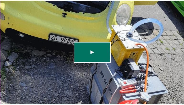 ガソリン自動車をカスタマイズして水素自動車へ「Hydrogen Add On solution」