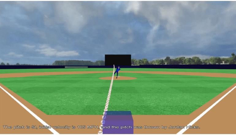 メジャーリーグのピッチングをVRで体験「PITCHvr 」