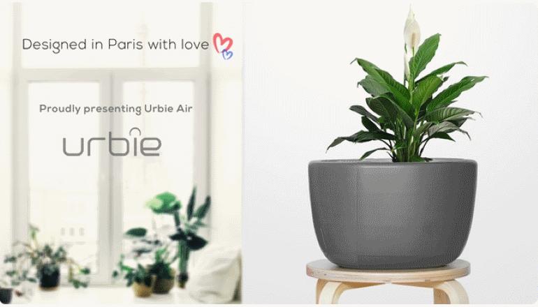 室内の空気をあらゆる角度から清浄に「URBIE Air」