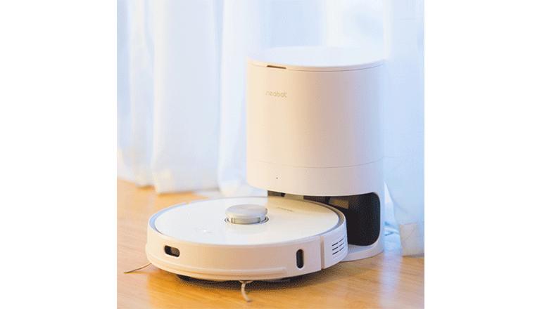 ハンズフリーでお手軽運用「Neabot Robot Vacuum」